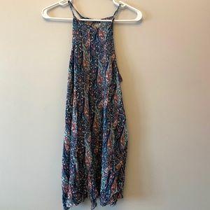 AE Floral Halter Dress